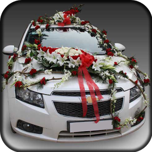 Ribbons Have Been In Trend For Years And It Gives A Classic Look To The Car Decoration Say With Satin Tie Them On Small Bows