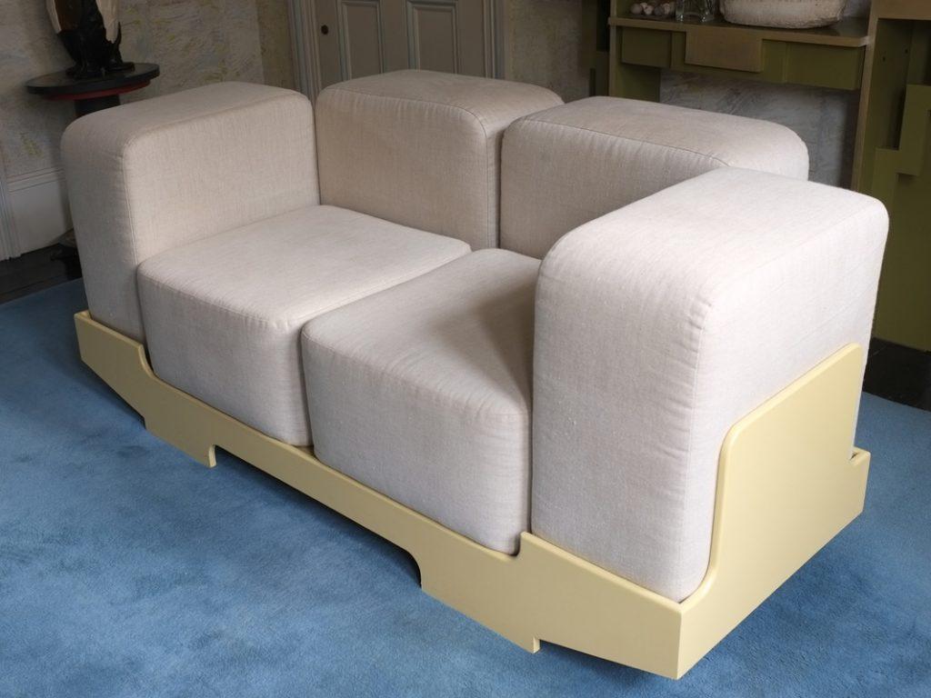 elegant Fabric upholstery