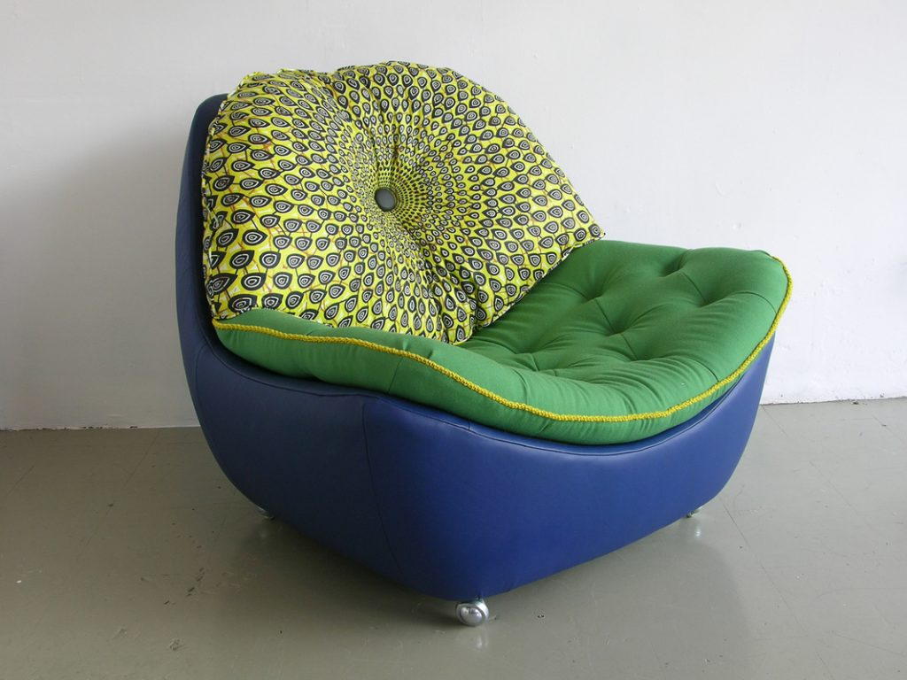 green colored furniture fabric upholstery
