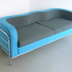 elegant blue colored upholstery furniture