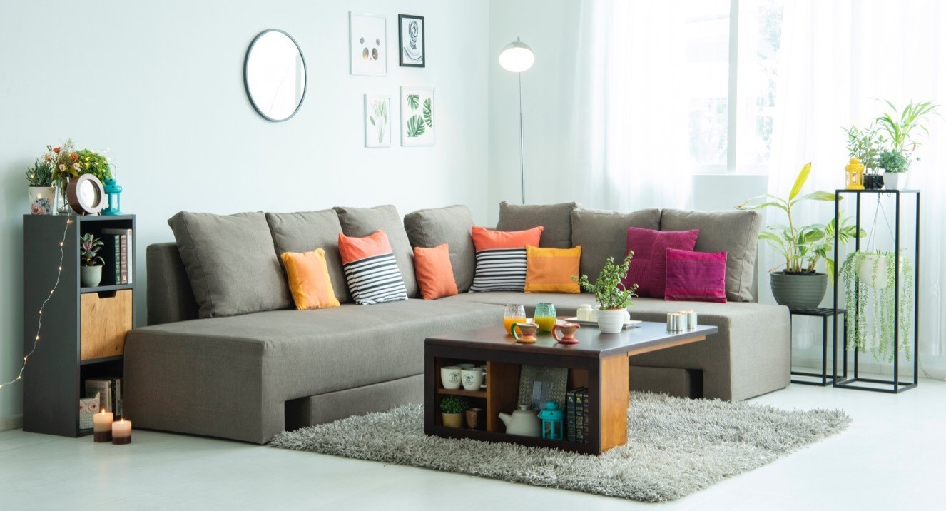 Modern Interior room with beautiful furnitures.