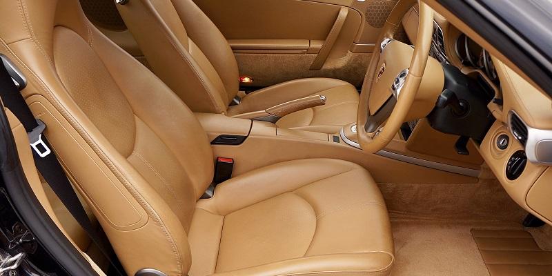 Interior of Luxurious Modern Car.